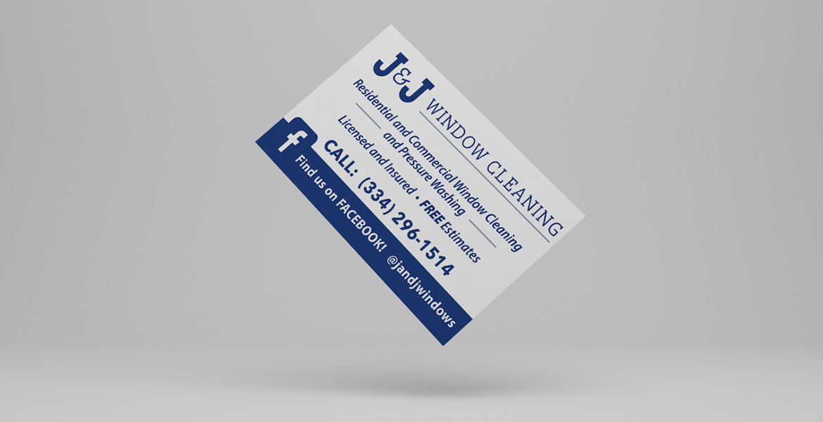 J&J Window Cleaning - Business Cards - Welcome to 12Point Studios!